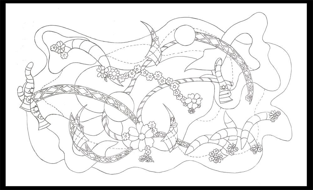 I'll Cross that Bridge When I Come to It, graphite on paper, 18-1/2 x 29 (2012)