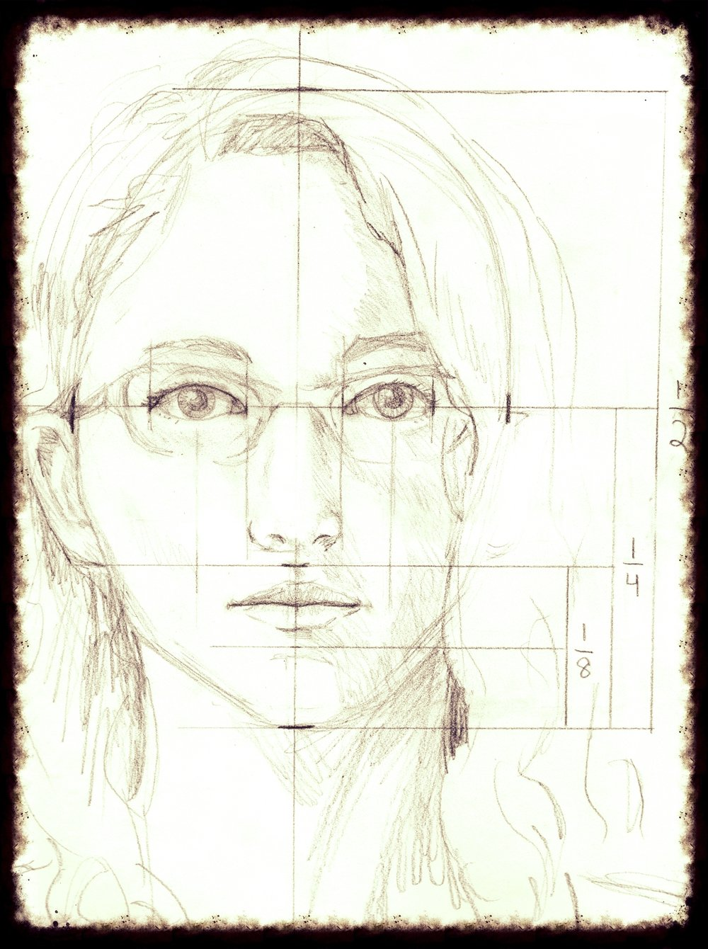 Self-Portrait by Melanie Kehoss    Drawing     Learning to draw first involves learning to see. Exercises in line, value, and gesture will introduce participants to the art of perception. Lessons provide tips and tricks for recording what you see, whether 2D or 3D, organic or geometric. Meanwhile, instruction in graphite technique will demonstrate the flexibility of this inexpensive art medium.