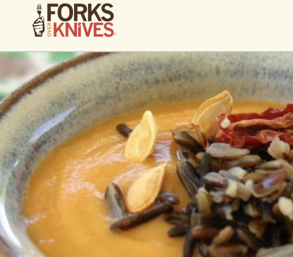 Harvest Moon Squash Soup - Forks Over Knives February 2017