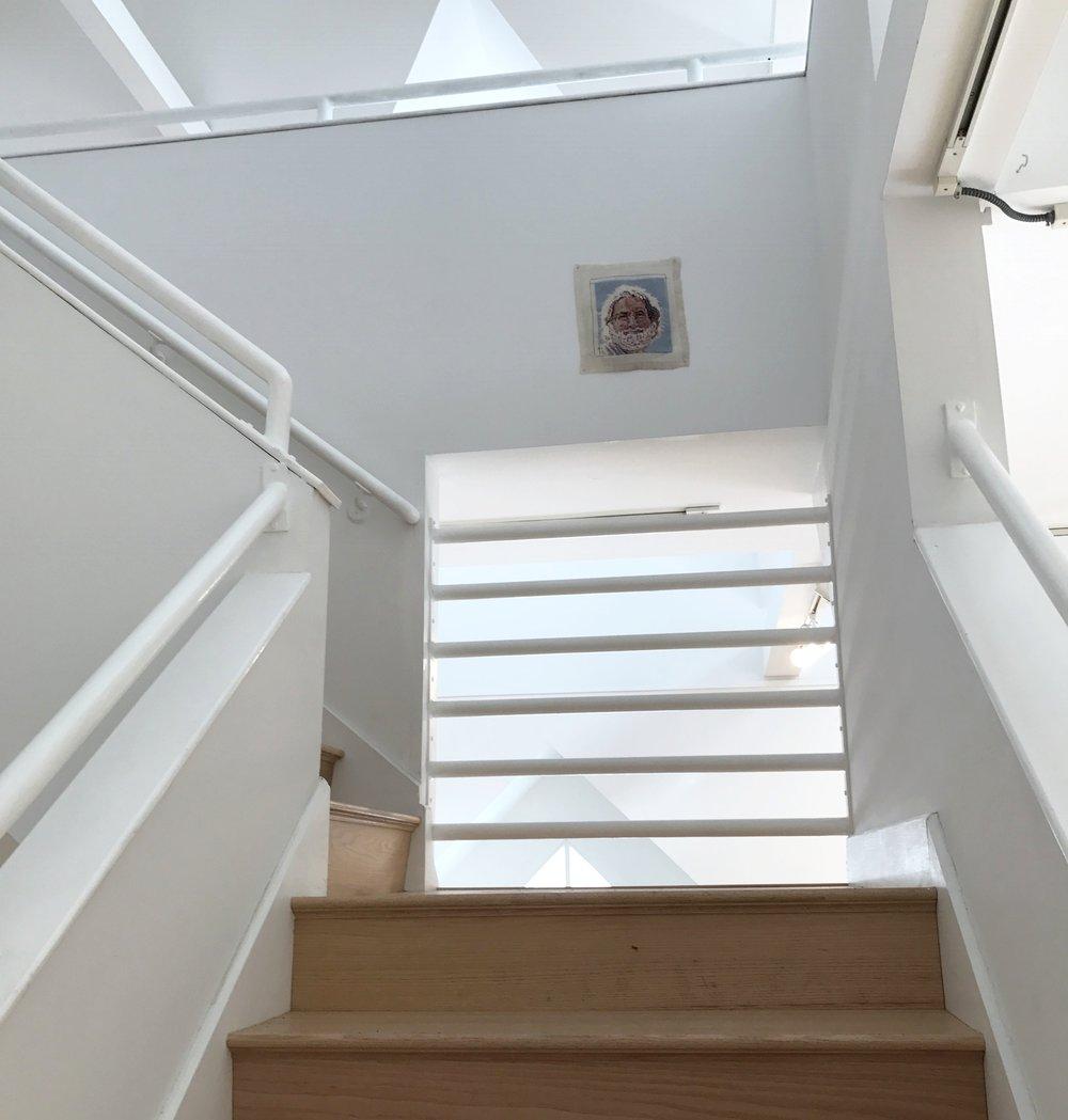 Karelsen Jerry stairs.JPG