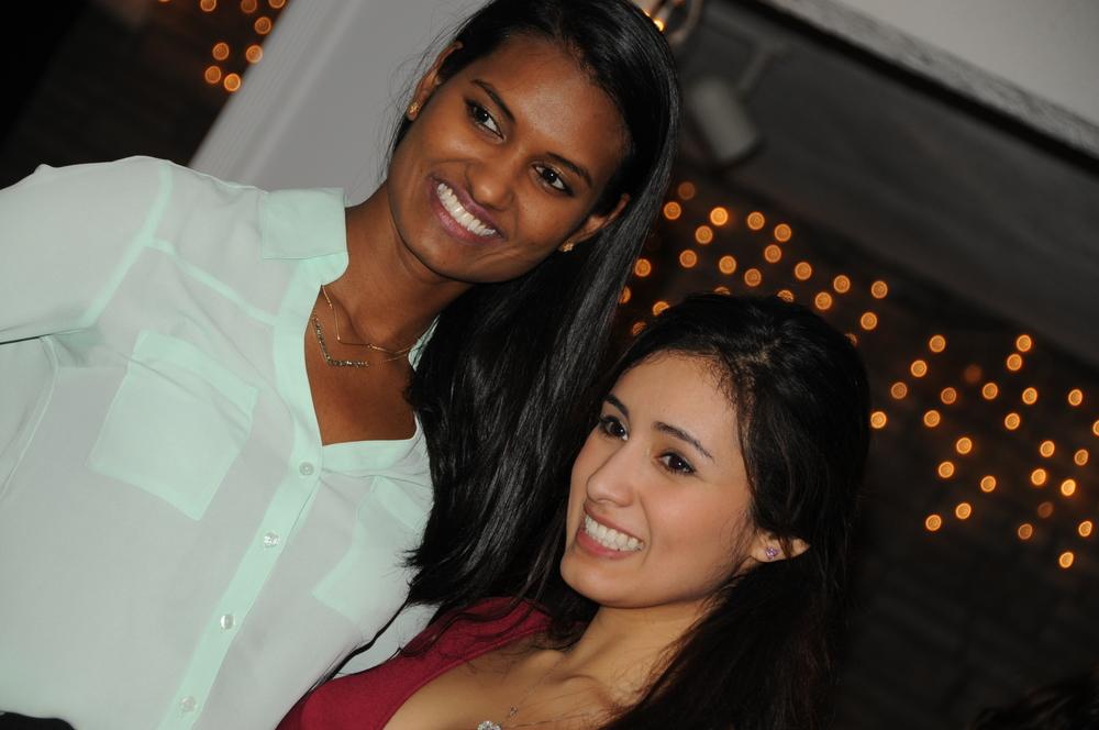 2014 12-12 SBU Alum Sushma& Natalie.JPG