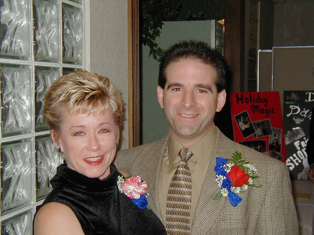 GINY RAE AND HER HUSBAND, PETER