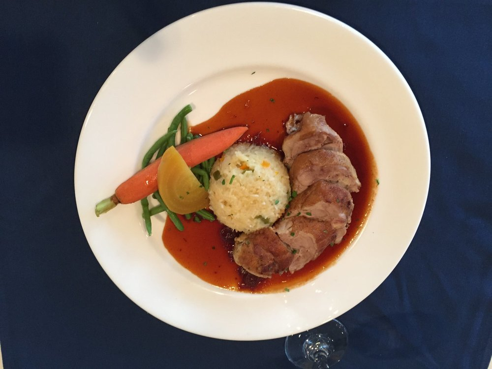 Duck breast with couscous