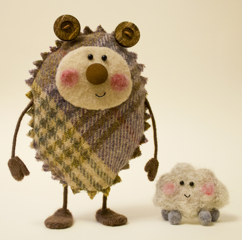 Tweedy and Fluff Designs for Stop Motion