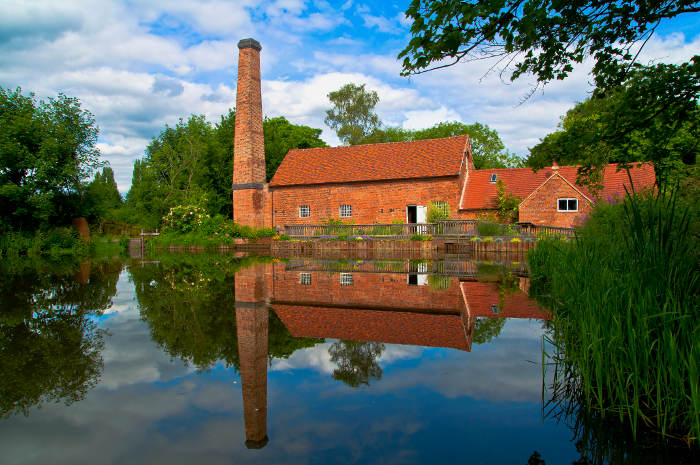Tweedy & Fluff's home Sarehole Mill
