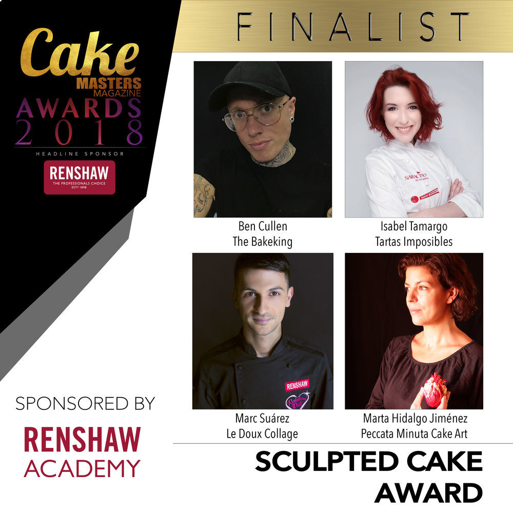 Finalist Grid 2018 SCULPTED CAKE AWARD SPONSORED BY RENSHAW ACADEMY.jpg