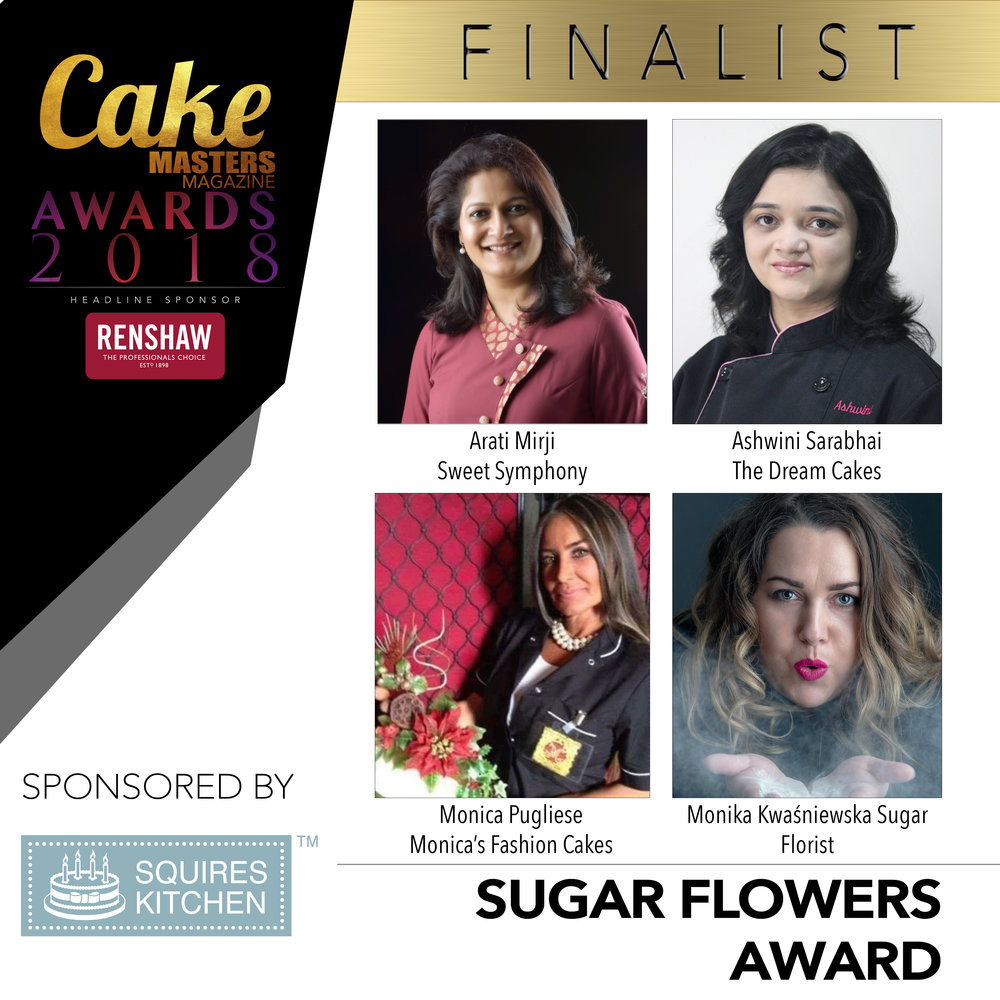 Finalist Grid 2018 SUGAR FLOWERS AWARD SPONSORED BY SQUIRES KITCHEN.jpg