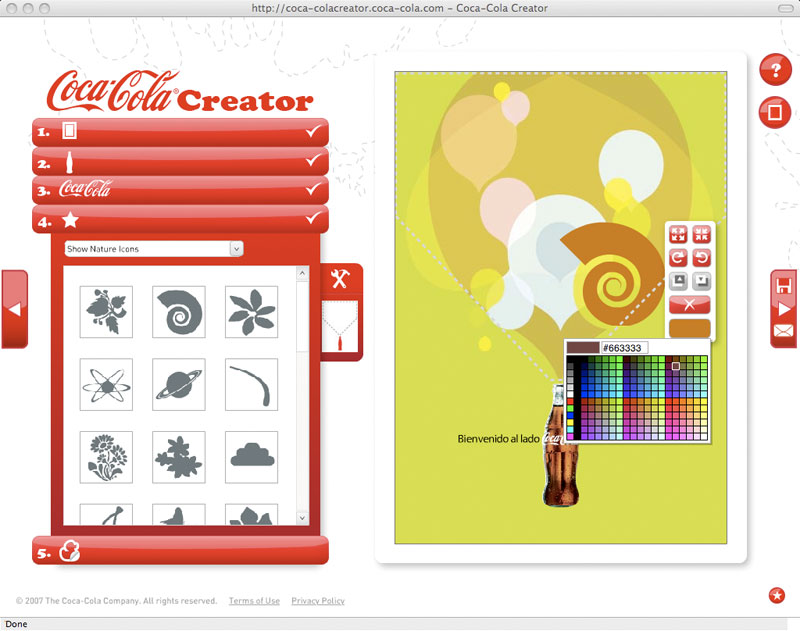 Copy of Coca-Cola Creator