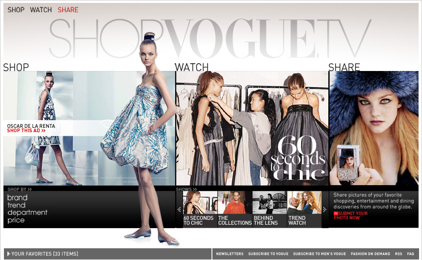 Copy of Shop Vogue