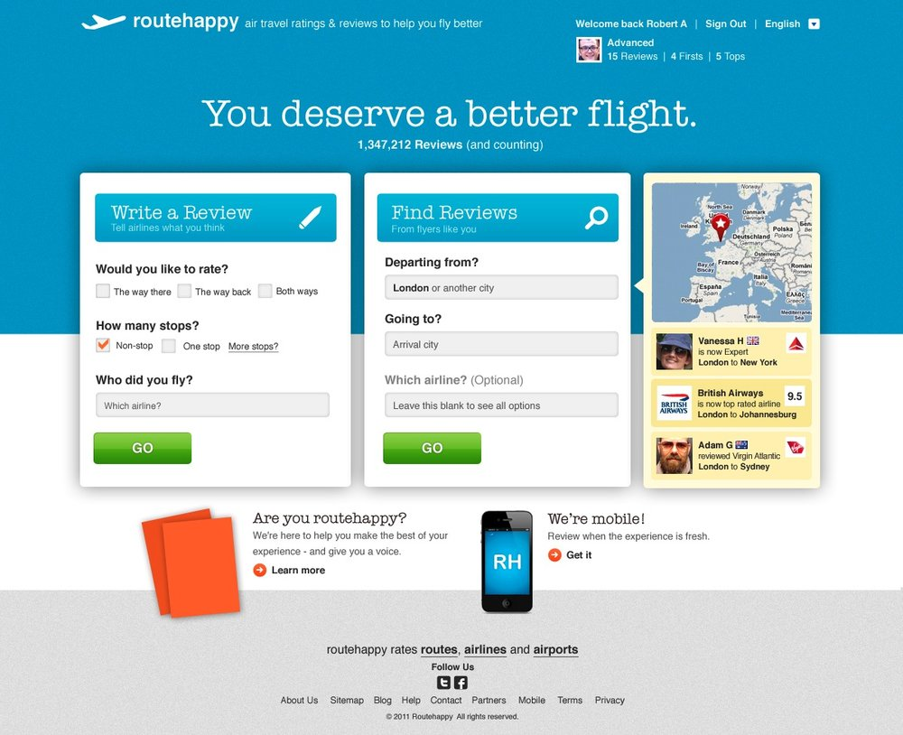 Copy of RouteHappy