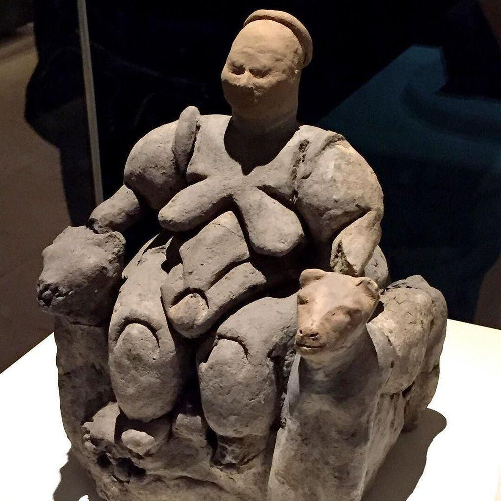The Seated Woman of Catalhöyük