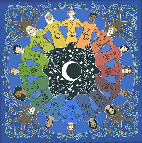 """Sister Circle""   Artist: Karen MacKenzie"