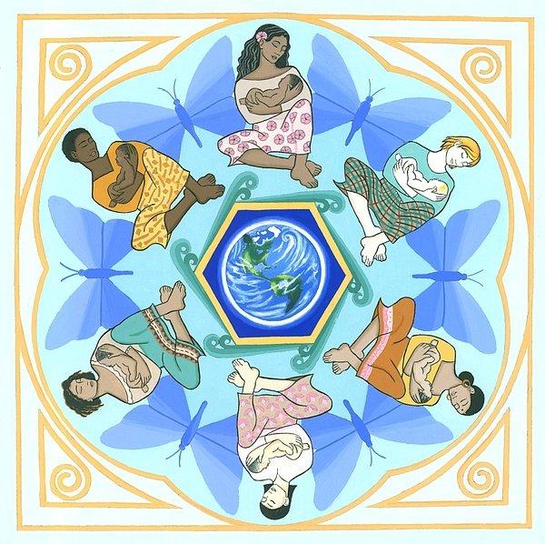 'mothering' Mandala   Artist: Karen MacKenzie