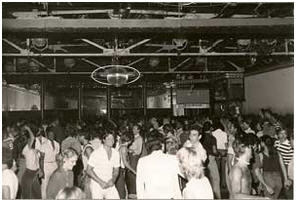Crowded dance floor, 1976