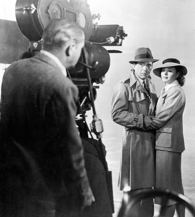 Mitchell BNC on the Casablanca set