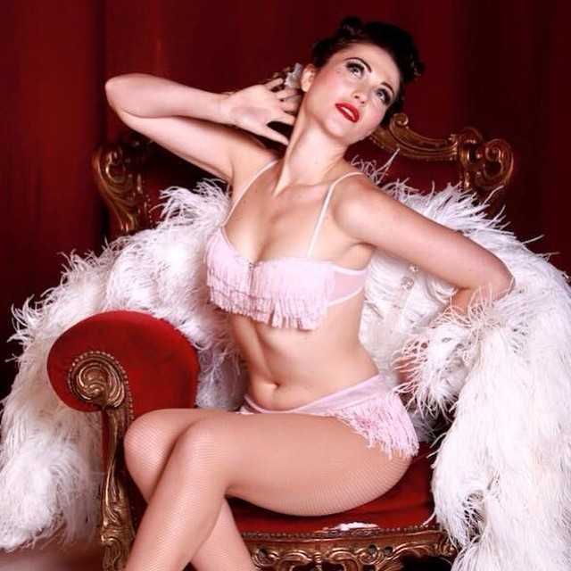 """Crowned the new """"Queen of Kink"""", this lady is indisputable burlesque royalty. Bringing together her love of all things comic, clever, shocking and divine, @gypsywood will always leave you wanting more. VVx  #ClubPerverts #GypsyWood #EastEndCabaret #specialguests #londonwonderground #bambiheaven #fringefamily #tourlife #spiegeltent #london #dangerwank #burlesque #comedy #yesss @londonwonderground"""