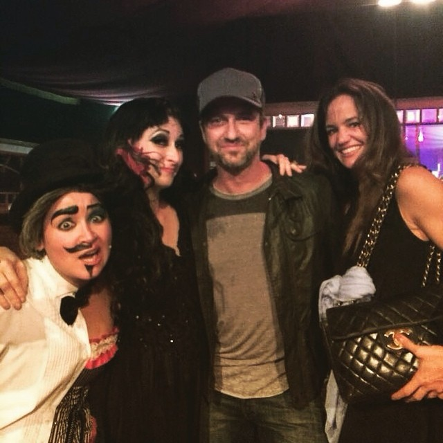 And here's a little #flashback to last years #ClubPerverts where we rubbed shoulders (and potentially other things) with Gerard Butler and his lovely girlfriend! Come and get down and dirty with us tonight @londonwonderground, 9pm! VVx #GerardButler #EastEndCabaret #thisisSPARTA #300 #londonwonderground #tourlife #spiegeltent #london #gypsywood #Shivannah #davidmills #standup #sexualgentleman #ashertreleaven #comic #drag #queen #dance #burlesque #cabaret