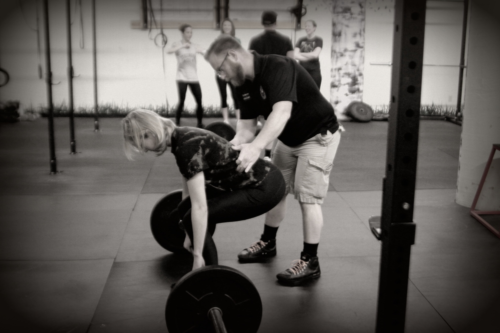 Teaching Conventional Deadlift