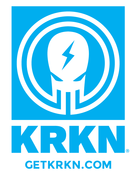 KRKN Brand Apparel    They take a different approach to apparel and want to remind people that fitness can be fun. Great designs and great fun!