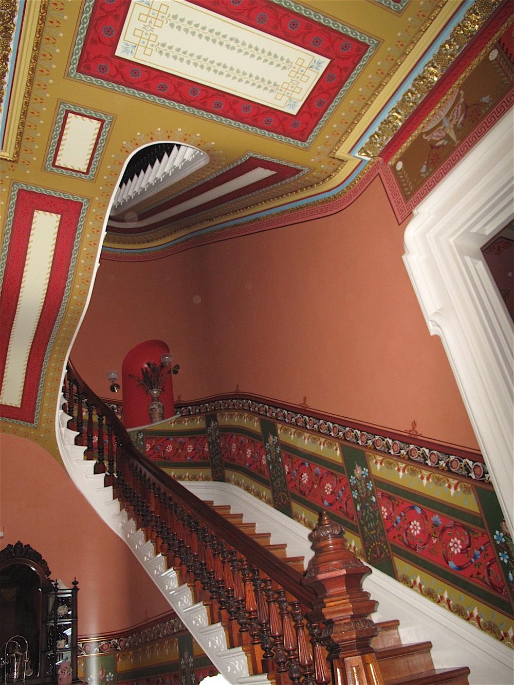 Culbertson Mansion stairway