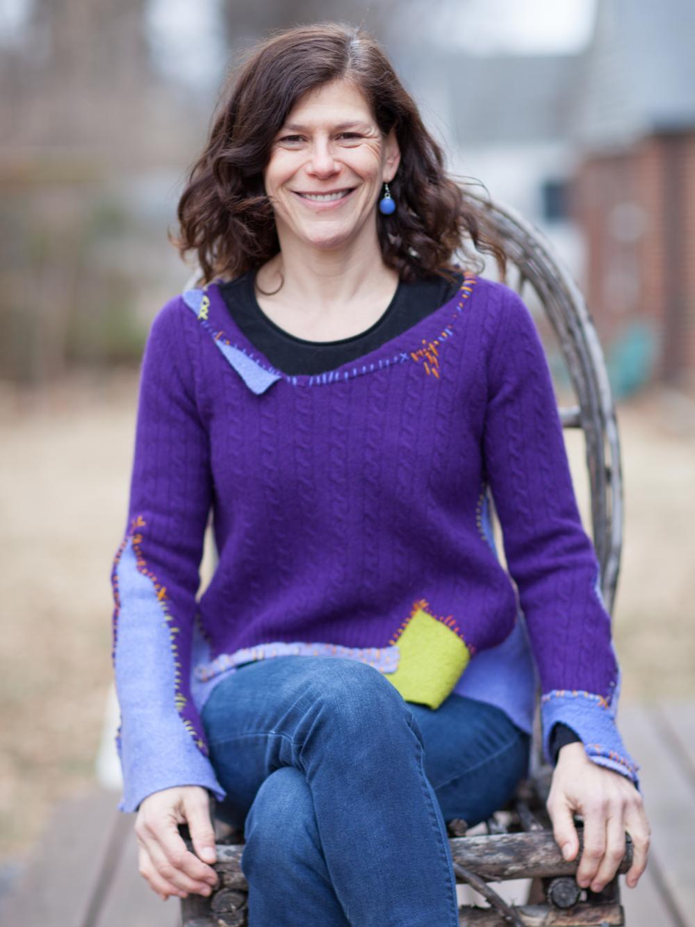 Marianne Baer, Artist & Owner of Baer Designs, Inc. Photo by Michael Kilfoy Studio X
