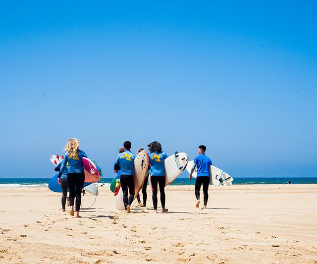 Surf Camp in the Bay of Biscay - Experience the original and famous surf camp in Moliets, right in the heart of the Bay of Biscay where European surfing originated.