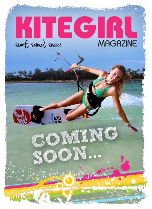 kitesurf, kitegirl, magazine