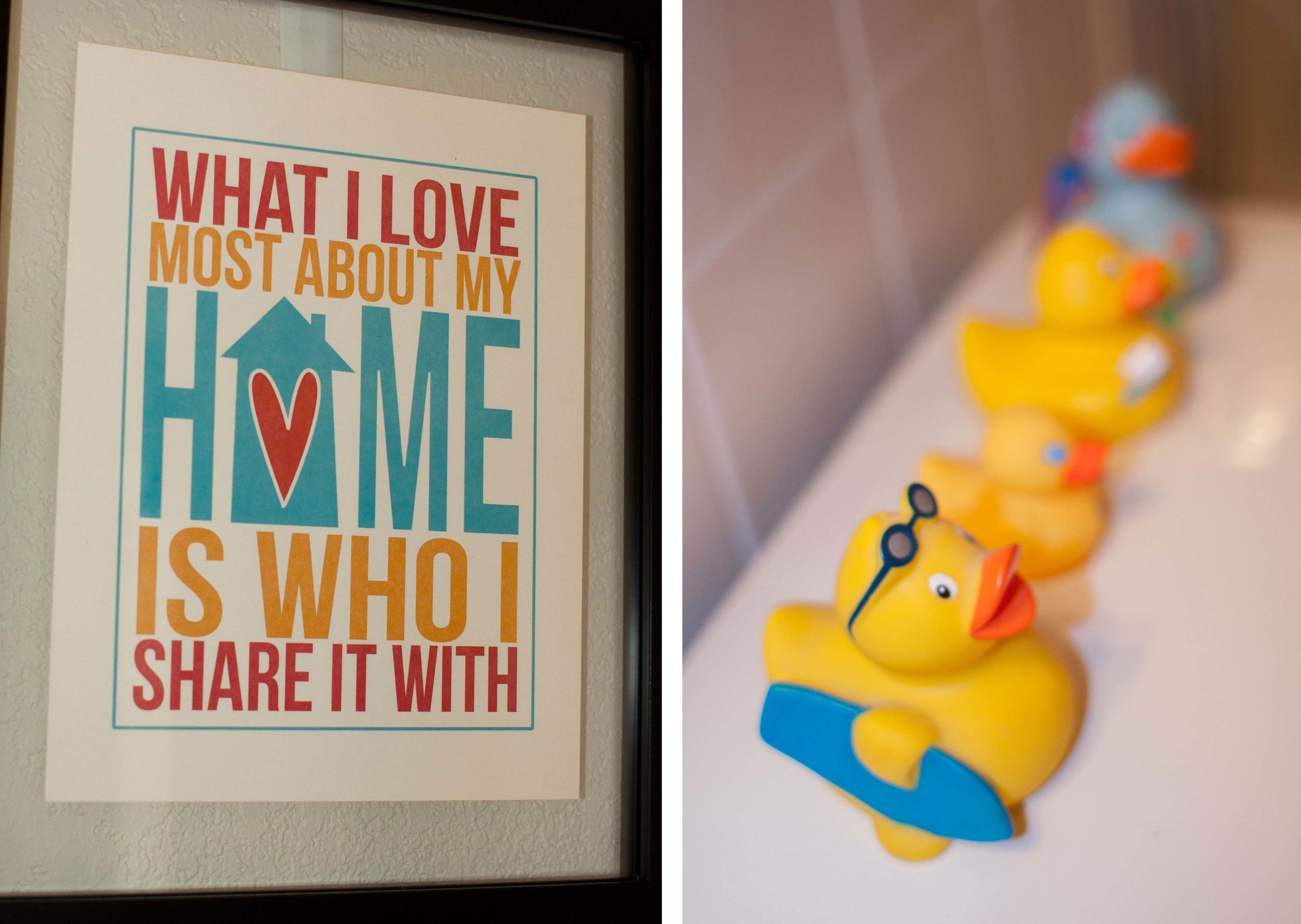 frames and ducks