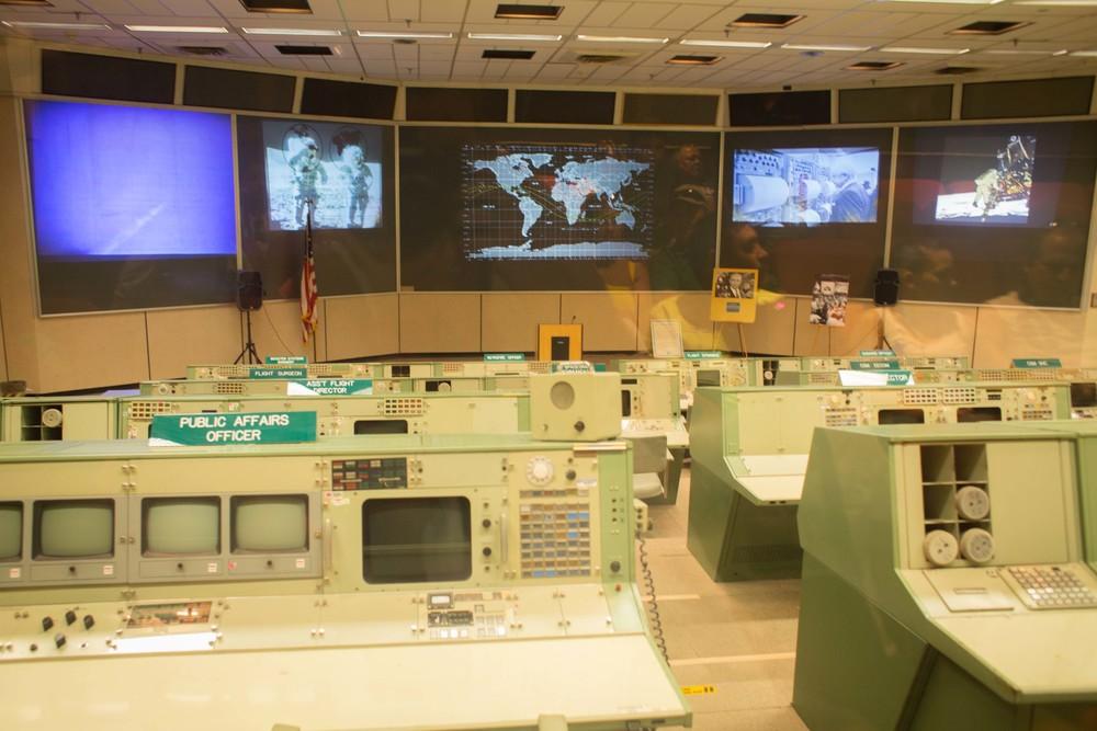 Apolo mission control