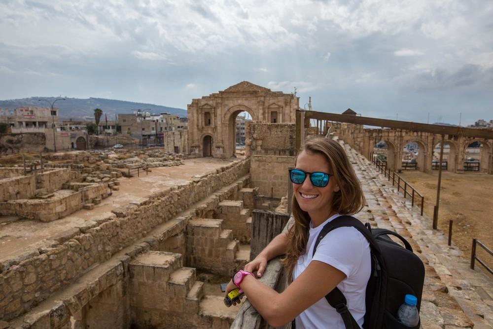 Jerash entrance