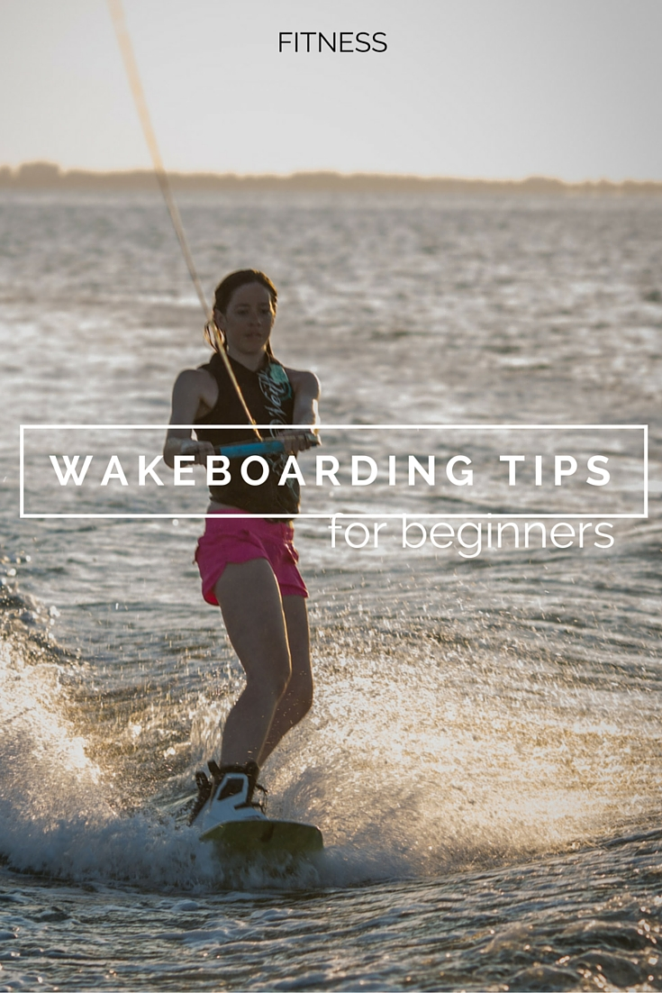 learning to wakeboard