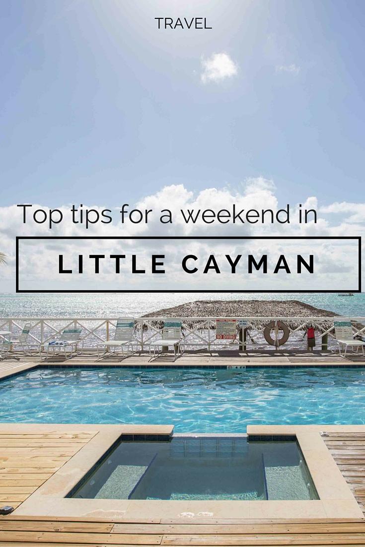 little cayman weekend