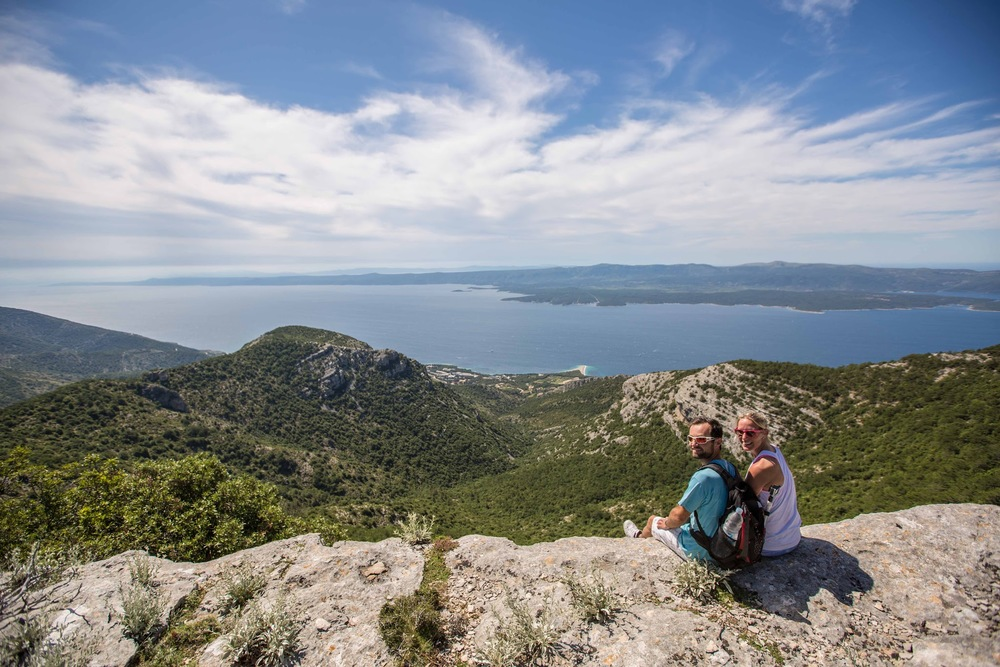 Vidowa Gora View Croatia