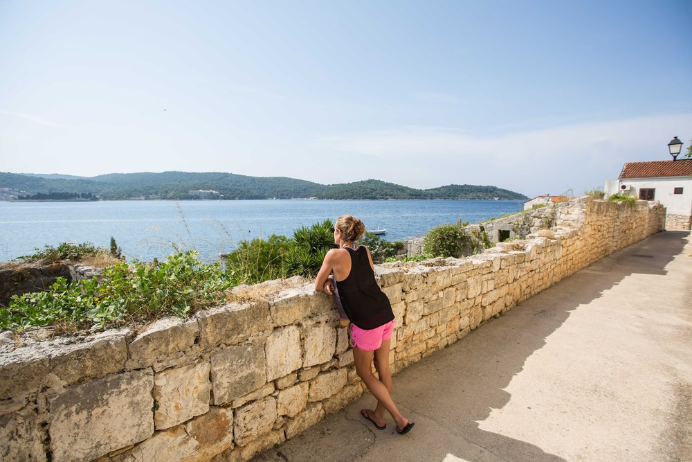 Port Lookout Vis Croatia