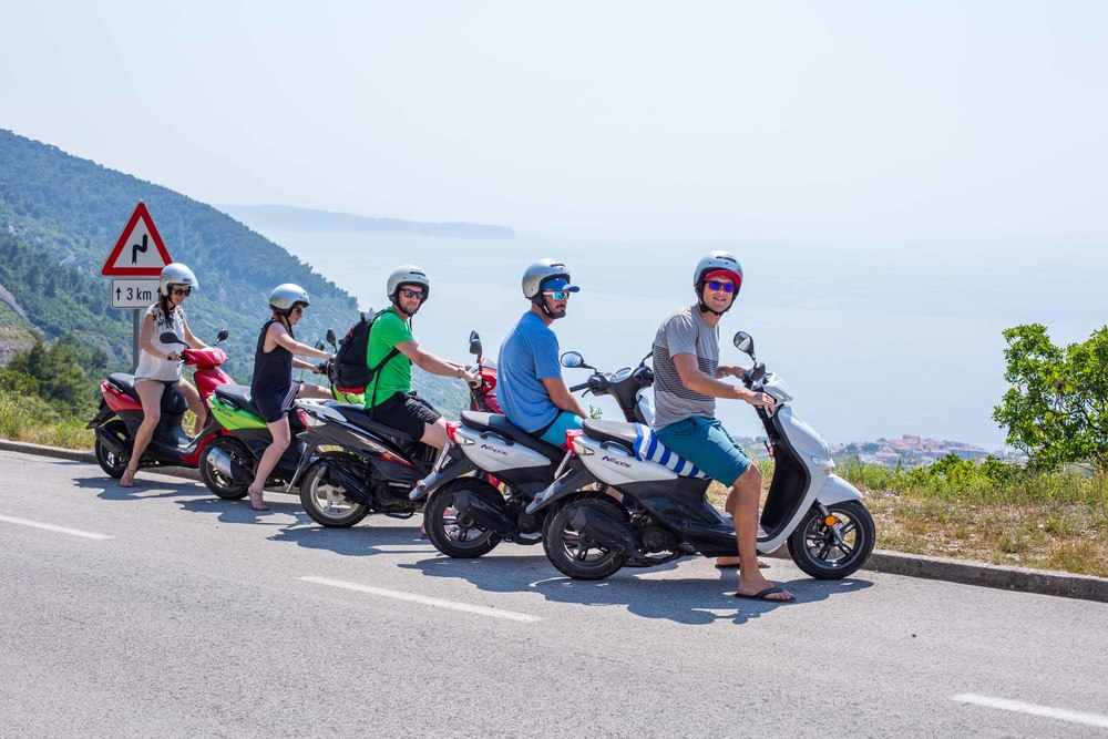 Scooter Line up Croatia