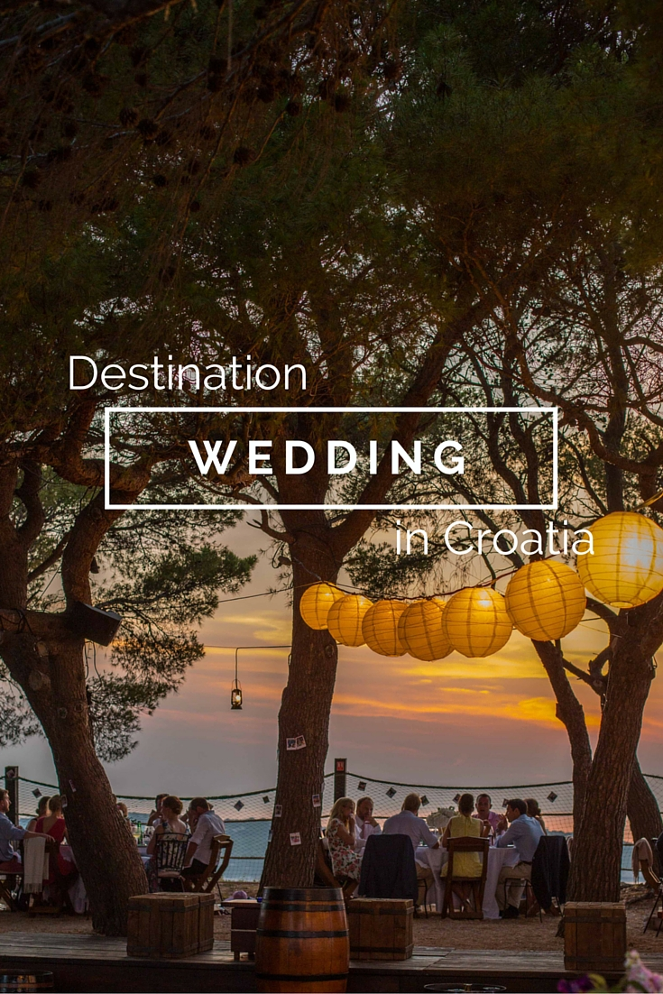 Destination wedding in Vis Croatia