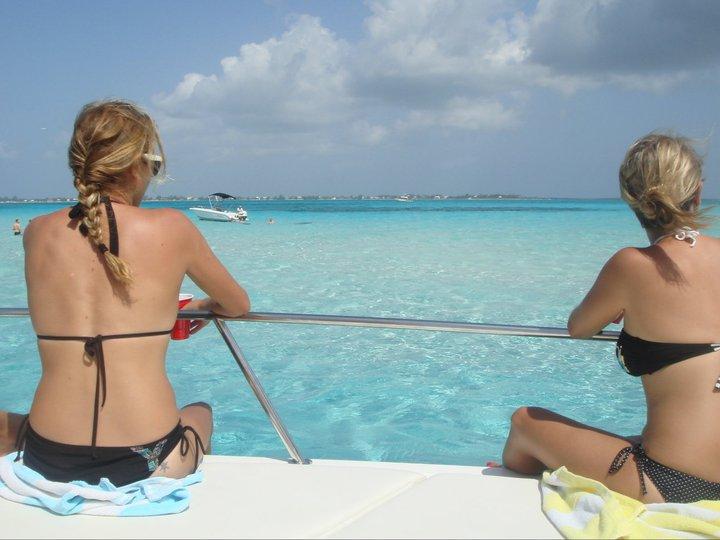 boat trip cayman