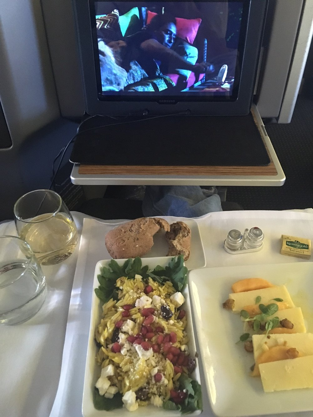 business class food AA.JPG