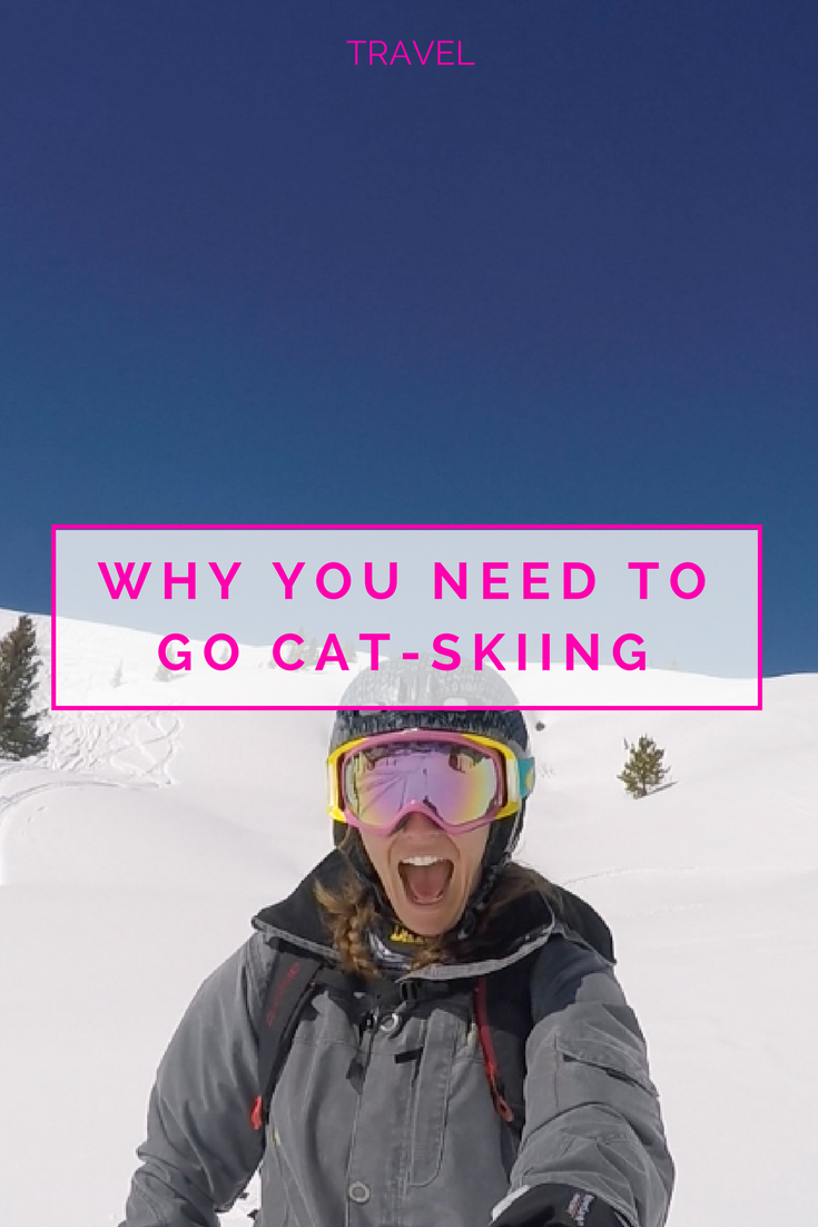 Why everyone needs to go Cat Skiing. www.caribbeansnowflake.com