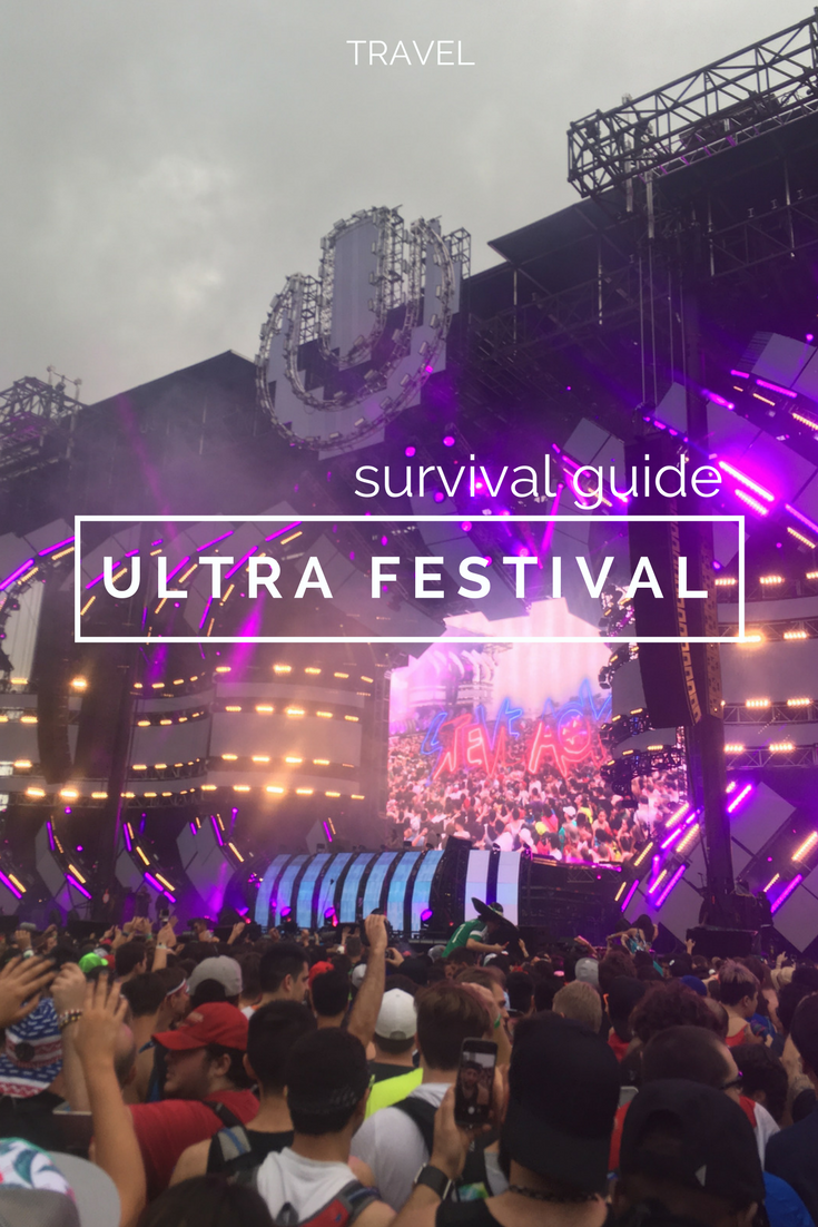 Ultra music festival tips and survival guide  www.caribbeansnowflake.com