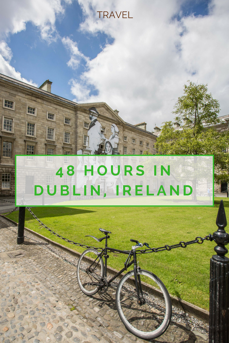 A weekend guide to Dublin, Ireland www.caribbeansnowflake.com