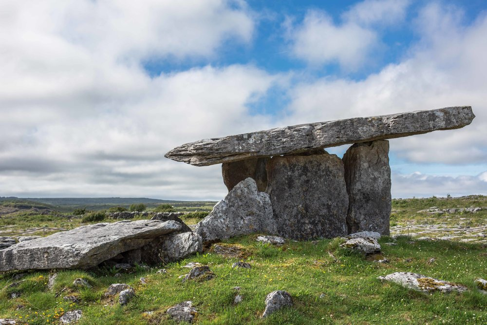 Tomb Burren Ireland