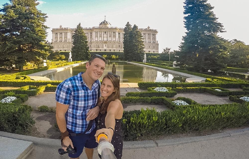 Palacio Real Madrid gardens_www.caribbeansnowflake.com