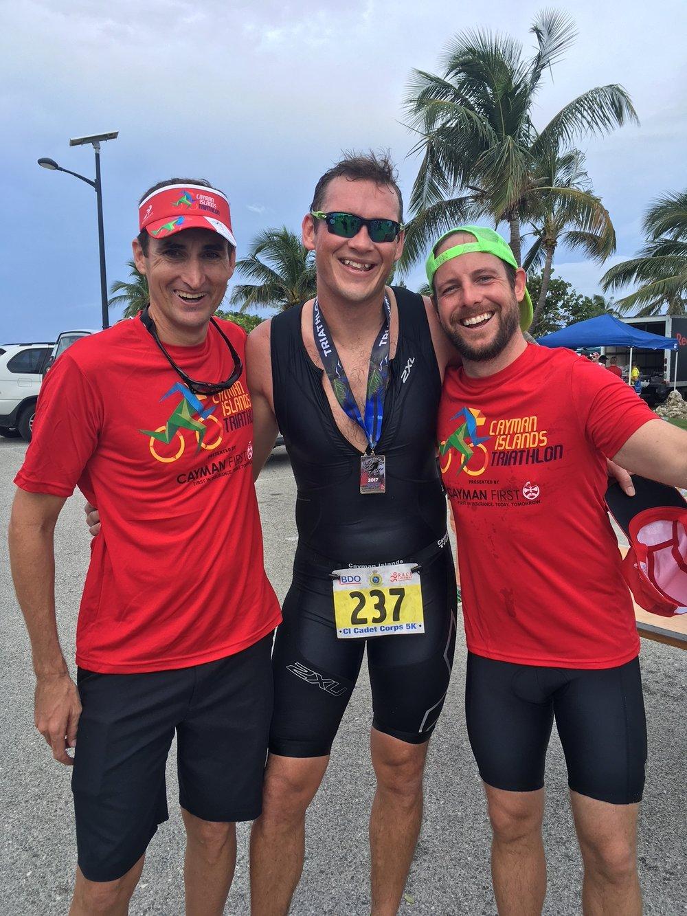 Cayman Triathlon finishers