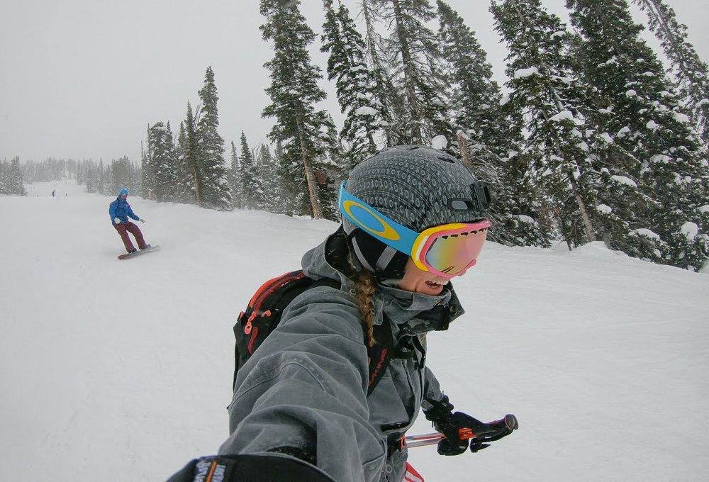 skiing Caspar bowl Jackson hole