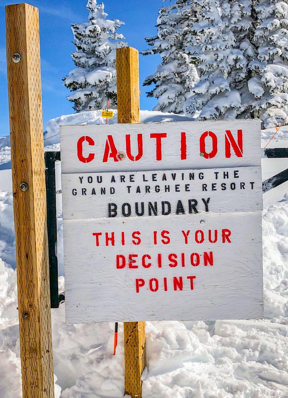 backcountry skiing Jackson hole guide
