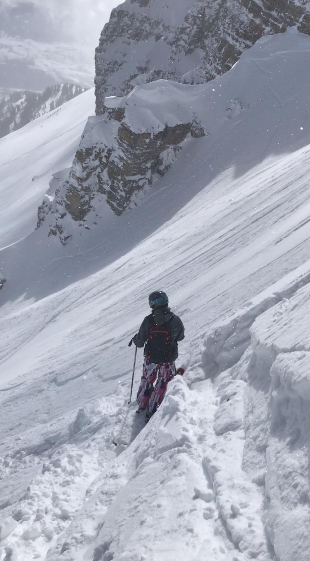 skiing no shadows Jackson hole