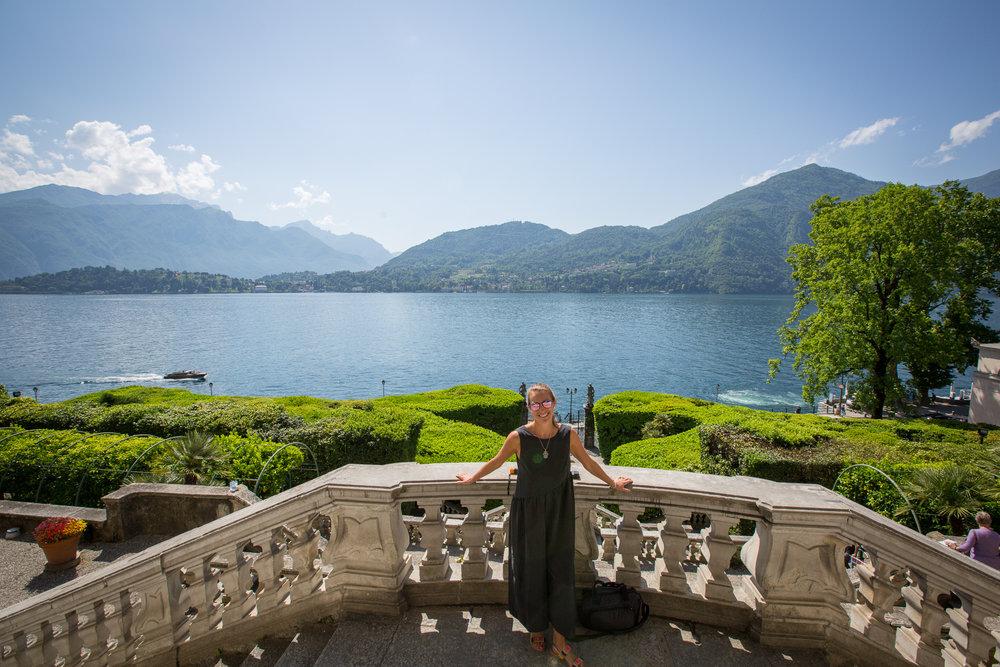 View of Lake Como Villa Carlotta Tremezo www.caribbeansnowflake.com.jpg