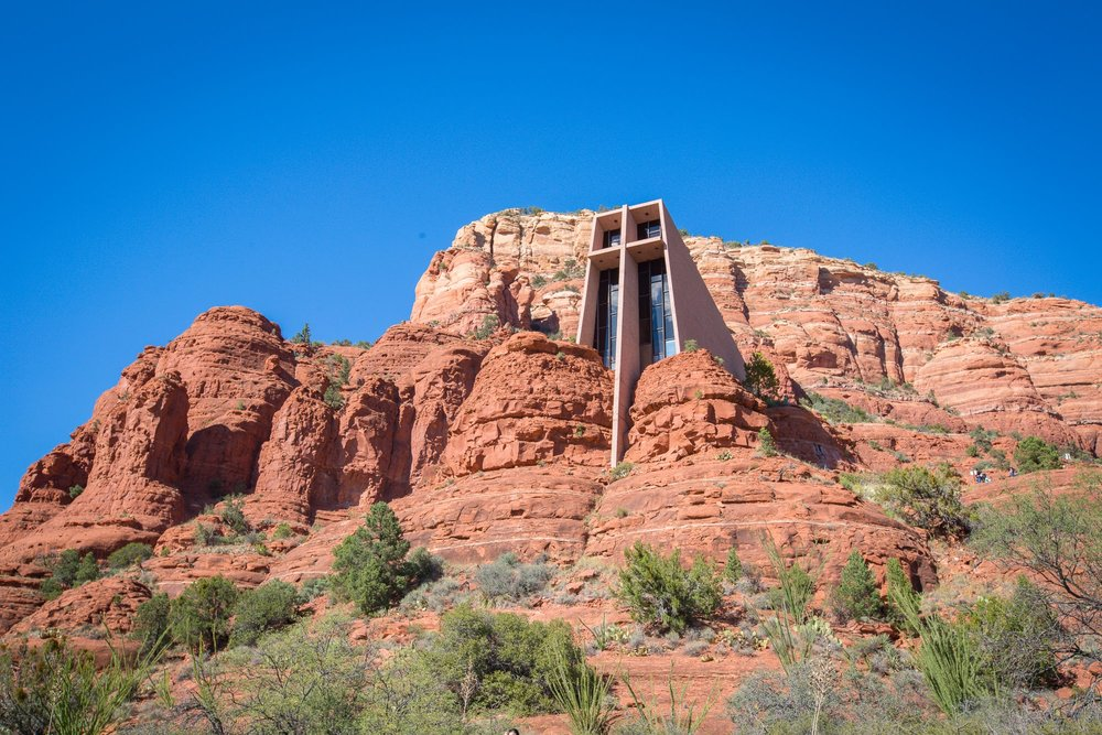 Chapel of the Holy Cross Sedona www.caribbeansnowflake.com