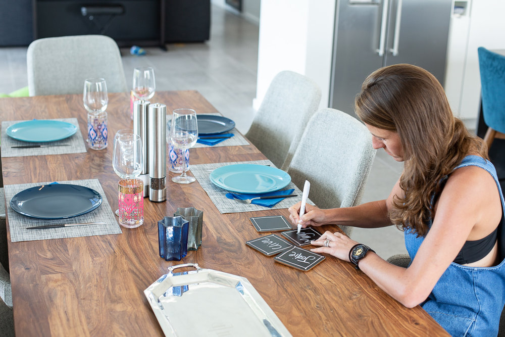 Glassware    //    Coasters    //    Plates    //    Salt & Pepper grinders    (similar) //    Placemats